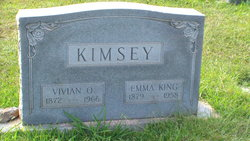 Emma Lillian <i>King</i> Kimsey