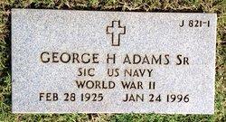 George Huddleston Adams, Sr