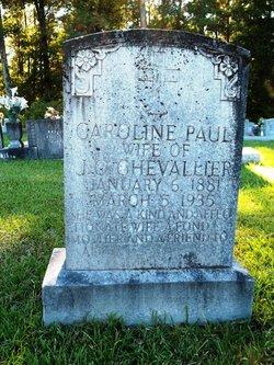 Caroline <i>Paul</i> Chevallier