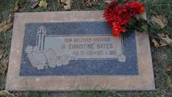 Haney Christine Crickle <i>Riley</i> Bates