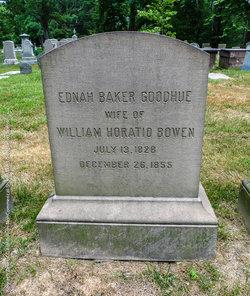 Ednah Baker <i>Goodhue</i> Bowen