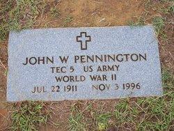 Johnnie William Pennington