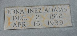 Edna Inez Adams