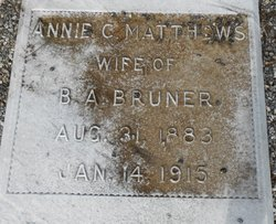 Annie Cleo <i>Matthews</i> Bruner