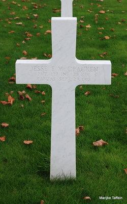 PVT Jesse E. McCracken