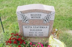 Netta Ruth <i>Little</i> Egelston