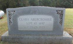 Clara <i>Brown</i> Abercrombie