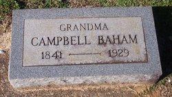 <i>Campbell</i> Baham