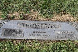 Carrie E. <i>Haley</i> Thompson
