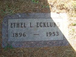 Ethel L Ecklund