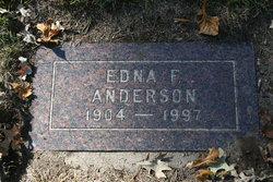 Edna Florence <i>Kennedy</i> Anderson