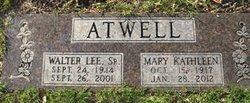 Mary Kathlene <i>Thedford</i> Atwell