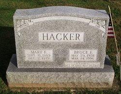 Mary Elizabeth <i>Lesher or Leisher</i> Hacker