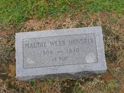 Maudie <i>Webb</i> Hendrix