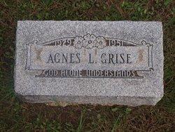 Agnes L <i>Sherk</i> Grise