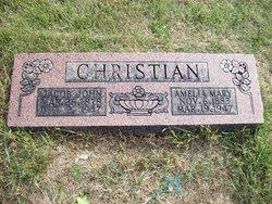 Amelia Mary <i>Schwab</i> Christian