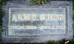 Benjamin R. Owings