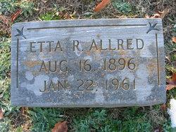 Etta Gertrude <i>Ritter</i> Allred