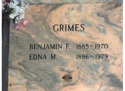 Benjamin F Grimes