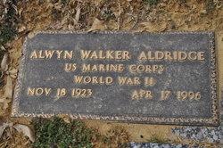 Alwyn Walker Aldridge