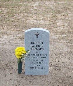 Maj Robert P. Bob Brooks