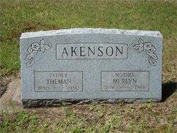 Merlyn M <i>White</i> Akenson