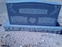 John Leven Ainsworth