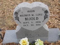 Mildred M <i>Love</i> Bijold