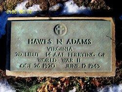 Lieut Hawes Netherlands Adams