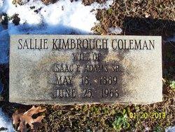 Sallie Kimbrough <i>Coleman</i> Adams