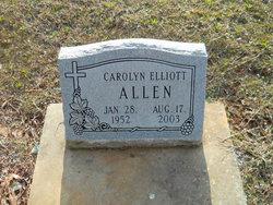 Carolyn <i>Elliott</i> Allen