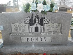 Roy Starlin Bonds