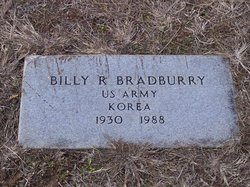 Billy R Bradburry