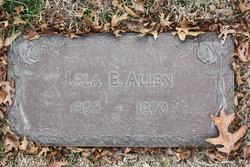 Lela E. Allen