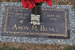 Amon M Banks