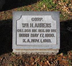 Corp William H Ahrens