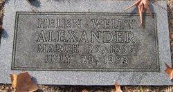Helen <i>Welty</i> Alexander