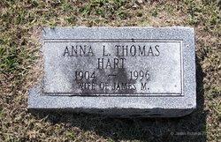 Anna L. <i>Thomas</i> Hart