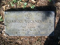 Carroll Buckner Ard
