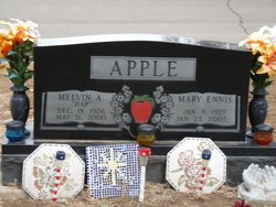 Mary <i>Ennis</i> Apple