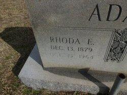 Rhoda Elizabeth <i>Crump</i> Adams