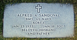 Alfred A Sandoval