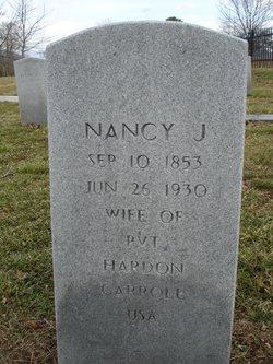 Nancy Jane <i>Stovall</i> Carroll