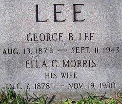 Ella C <i>Morris</i> Lee