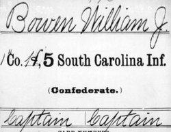Capt William James Bowen