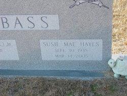 Susie Mae <i>Hayes</i> Bass