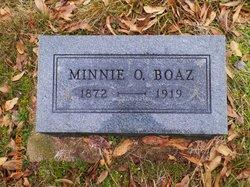 Minnie Ora <i>Cline</i> Boaz