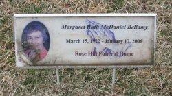 Margaret Ruth <i>McDaniels</i> Bellamy