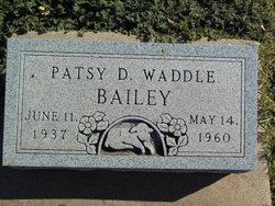Patsy D. <i>Waddle</i> Bailey