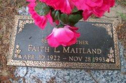 Faith L. <i>Swearengin</i> Maitland